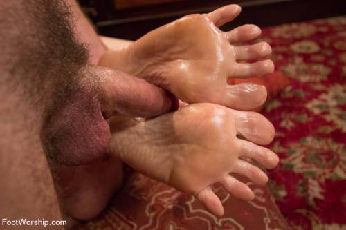 Feet Worship Banging Picture 15