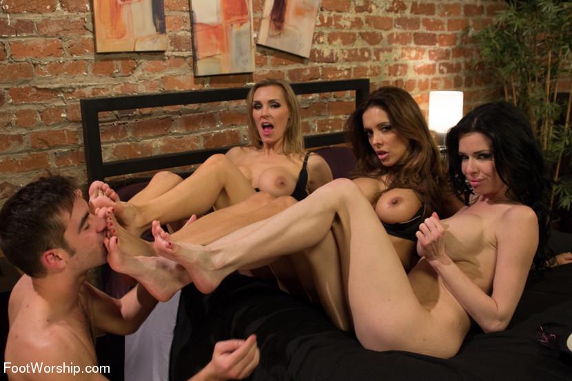 Lesbian foot worship teacher