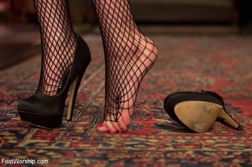 Pantyhose Feet Banging Picture 2