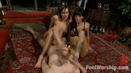 Cute Feet Banging -  Obsessed Foot Fanatic Punished And Made To Worship Sweaty Feet!