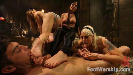 Erotic Feet Fuck -  Faster, PUSSYFOOT! Kill! Kill! A FOOTSPLOITATION Film!